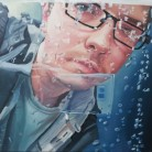 Reflecting on a Captured Moment by Jason Nunn Oil on canvas