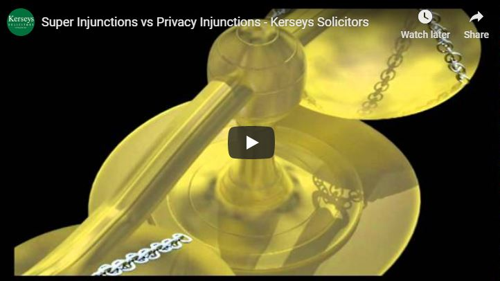 Super Injunctions vs Privacy Injunctions