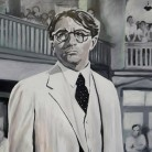 To Kill a Mockingbird Acrylic on deep edged canvas. 76cm x 101cm. Eleanor May. £550.
