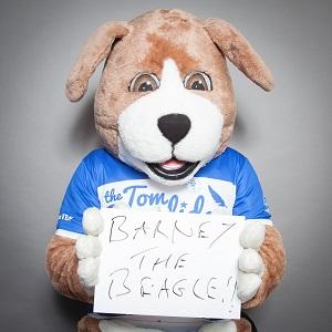Barney the Beagle - TBF Mascot