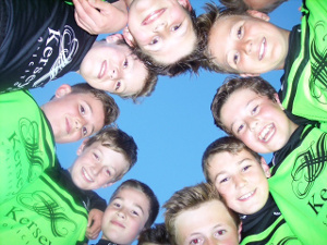 League winners - Martlesham Youth Football Club (MYFC) Lightnings Under 11s
