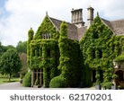 Stock image country manor house