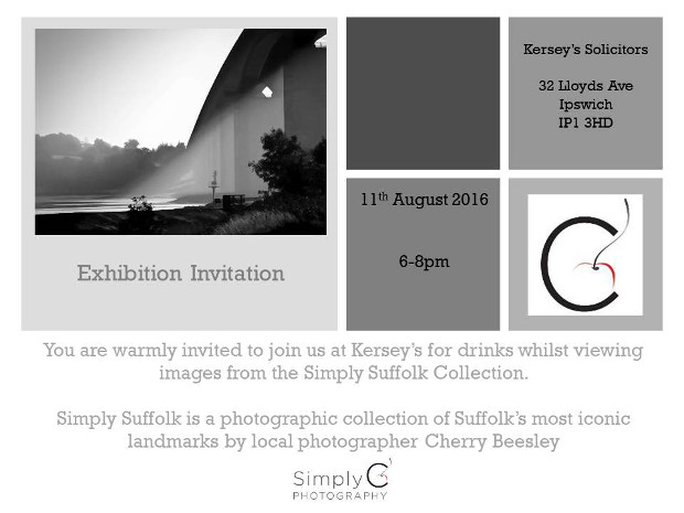Simply Suffolk Exhibition invite