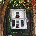 The Arboretum Jenny George Oils on Canvas 80cm x 30cm £1800.00
