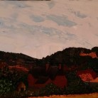 His Beloved Orwell Jenny George Oils on Canvas 120cm x 40cm £2600.00