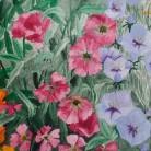 Cottage Garden Jenny George Acrylic on Paper £75 (framed print)