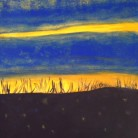 Cosmic Dunes II Ant Wooding Acrylic on Canvas 50cm x 40cm £200