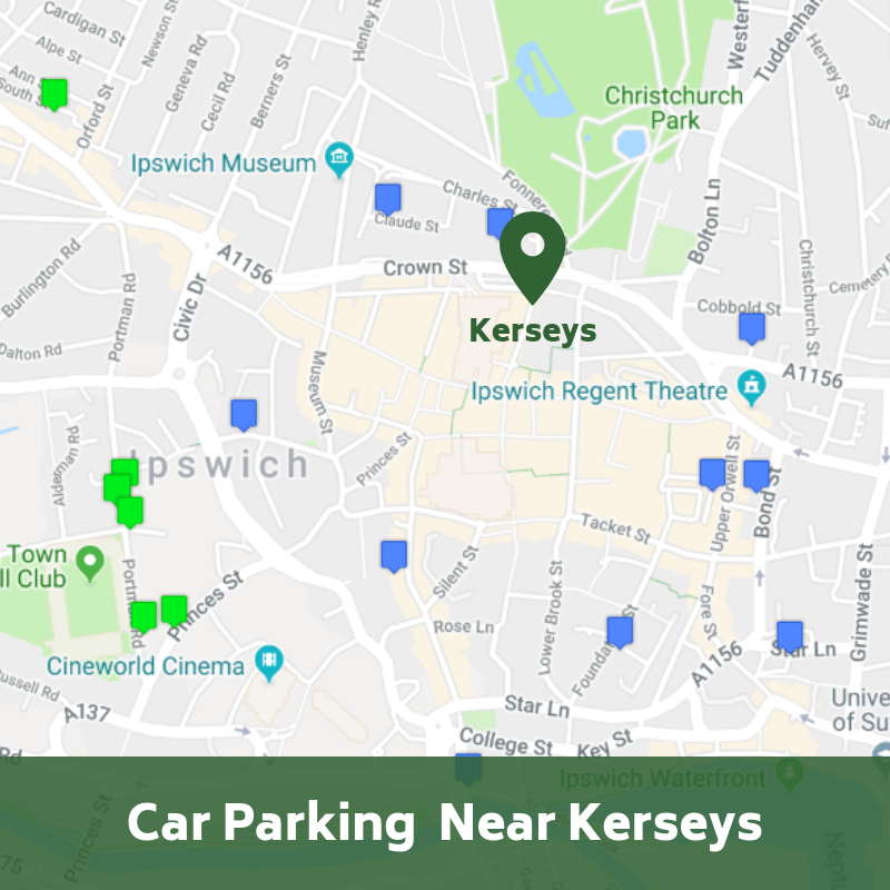 Car Parking near Kerseys