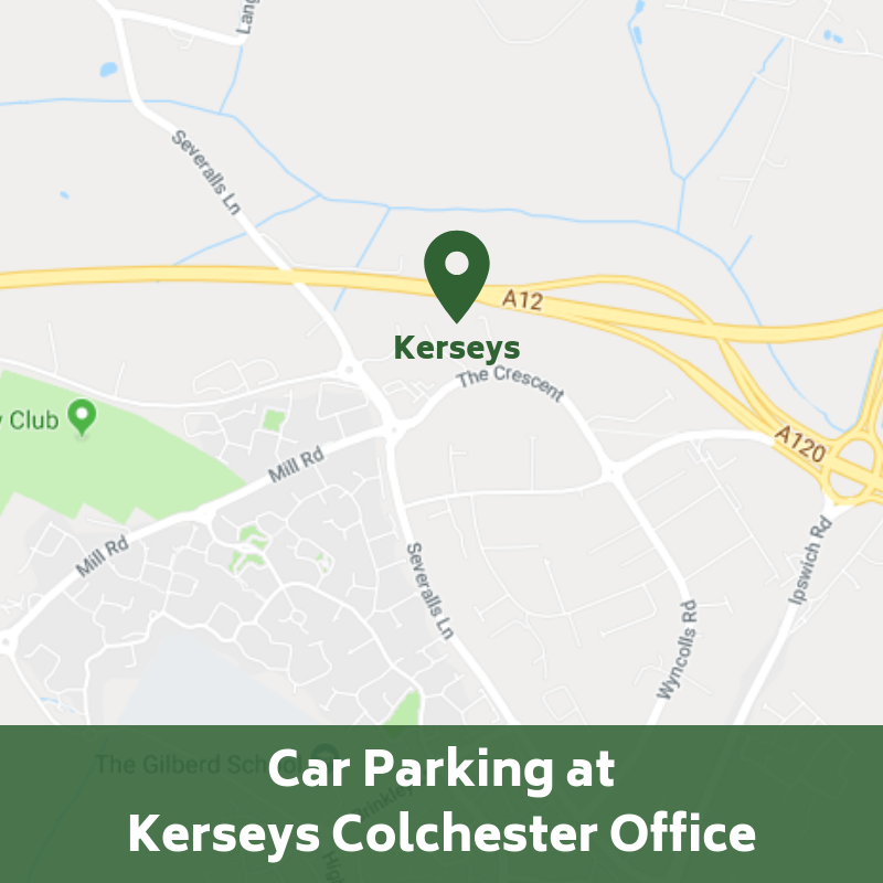 Kerseys Colchester Car Parking