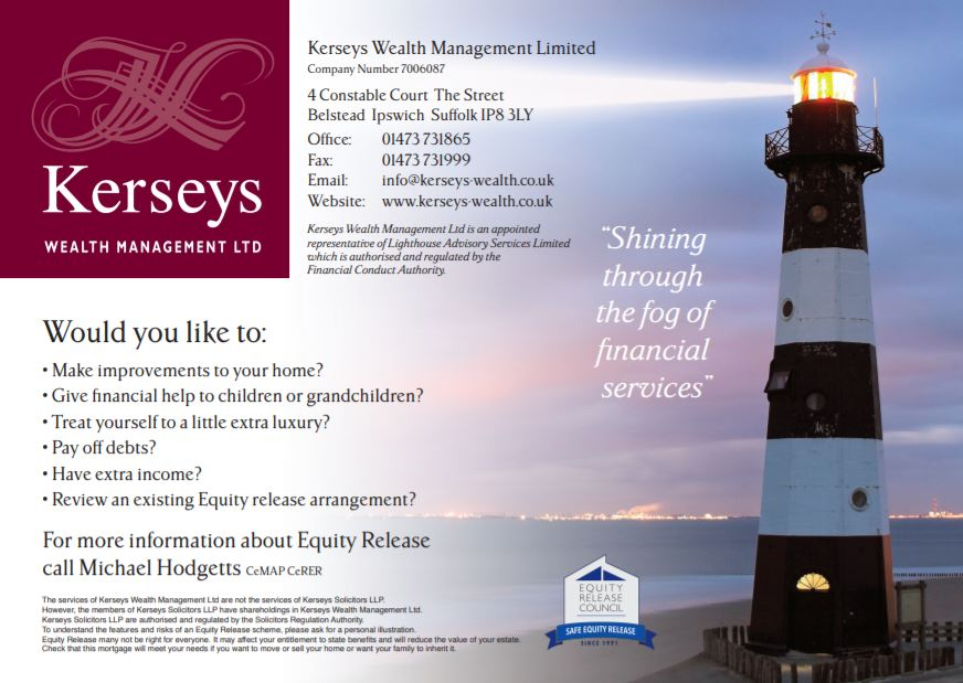 Kerseys Wealth Management Equity Release Flyer 2019
