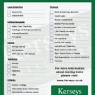 Single Page Checklist for address change
