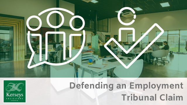 Defending an Employment Tribunal Claim Small