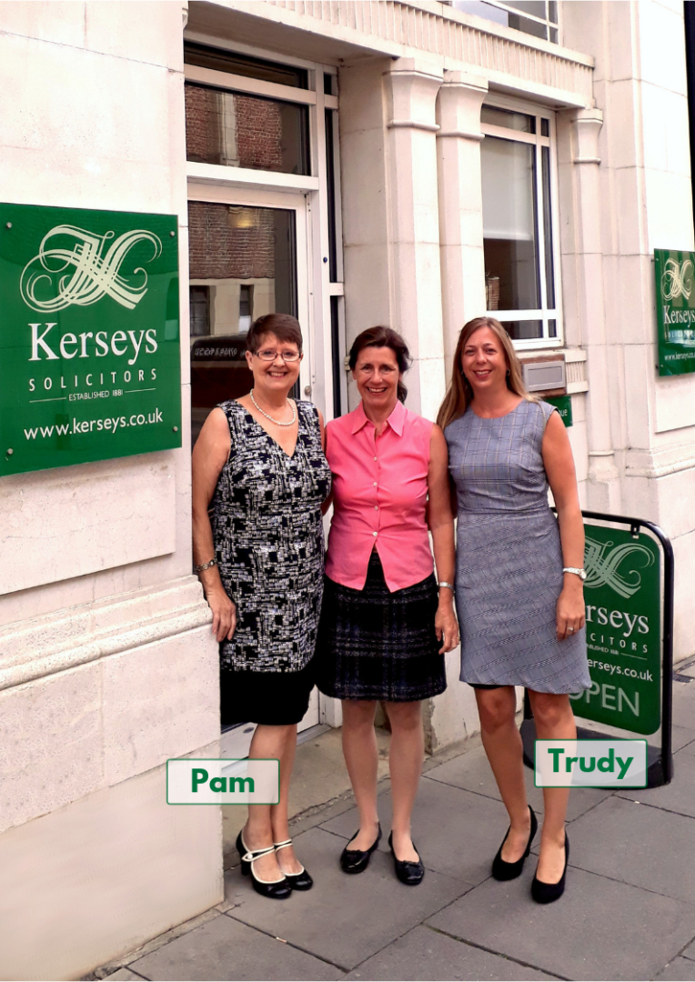 Pam and Trudy Handover IT