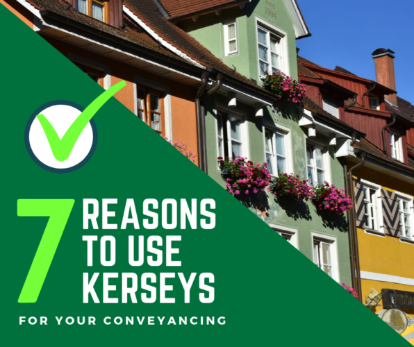 Reasons to use kerseys for your conveyancing