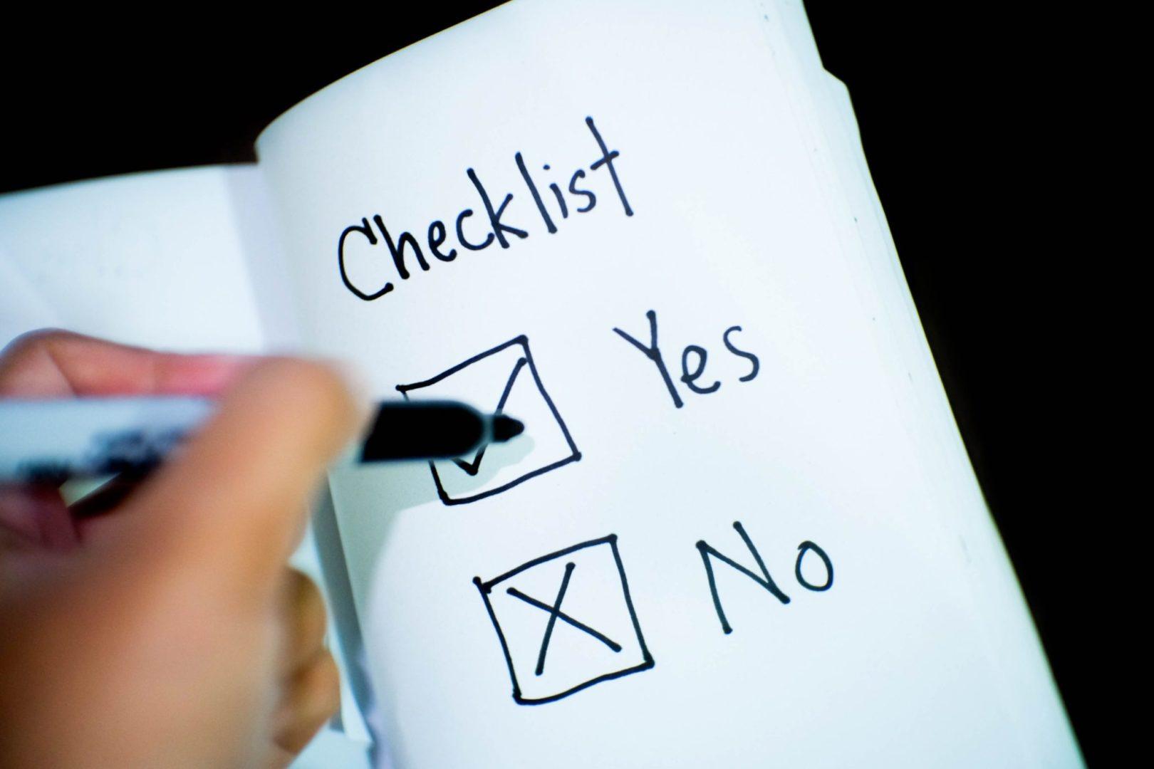 Pre-Employment Checklist