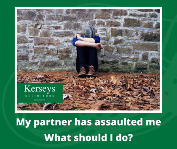 My partner has assaulted me – What should I do_