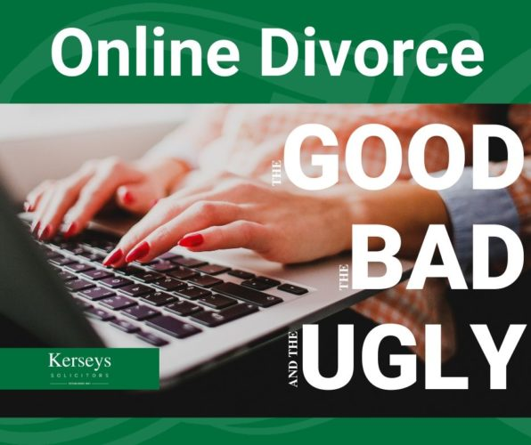 Online divorce: The good, the bad and the ugly