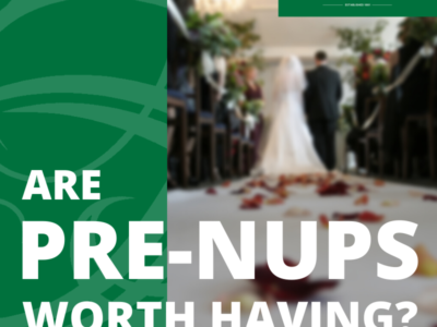 Pre-Nuptials worth having_