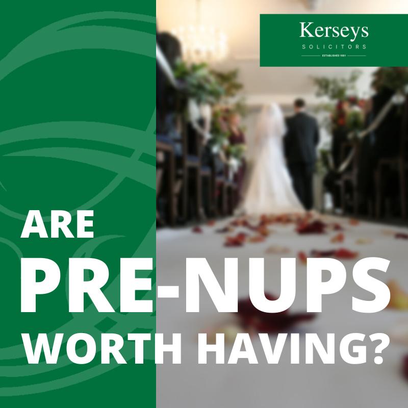 Pre-Nuptials worth having_