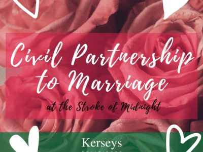Civil Partnership to Marriage