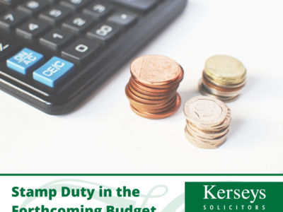 Stamp Duty in the Forthcoming Budget