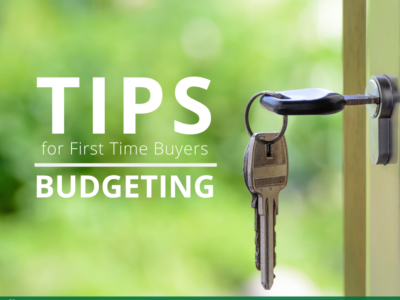 Tips for First Time Buyers – Budgeting