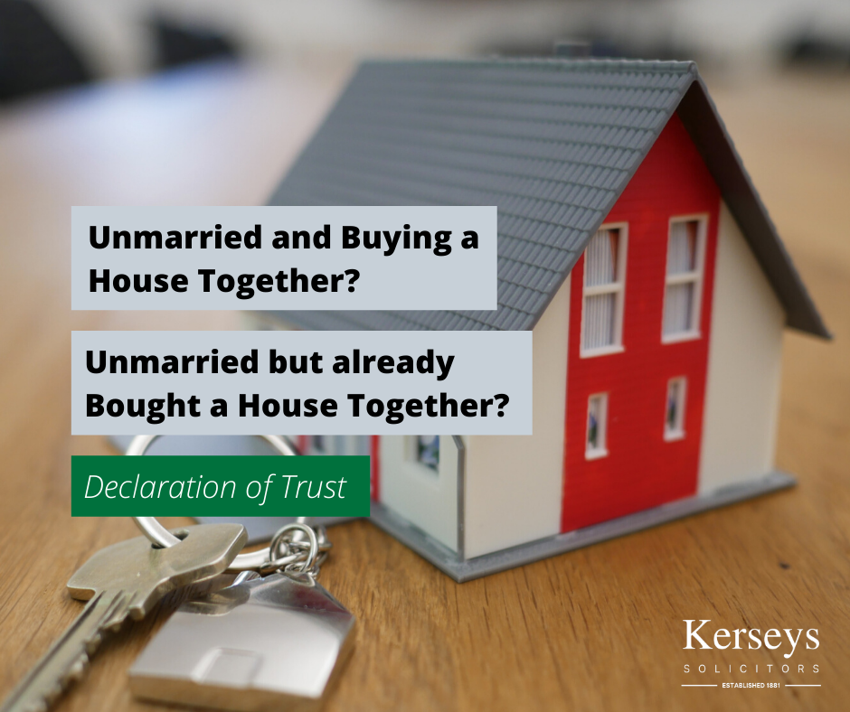 Unmarried and Buying a House Together