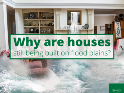 Why are houses still being built on flood plains_
