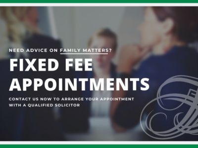 fixed fee appointments