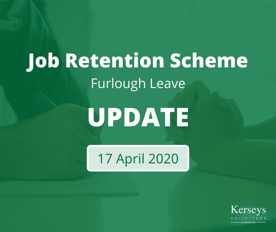 17 April 2020 - Job Retention Scheme