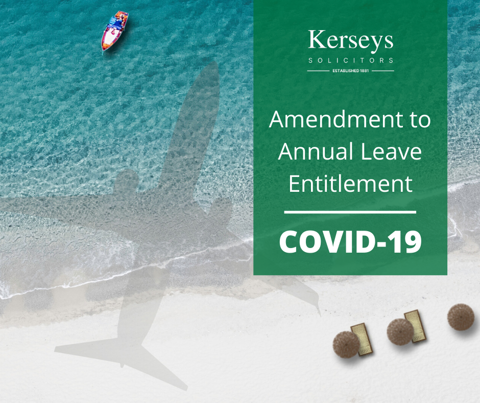 Amendment to Annual Leave Entitlement COVID-19