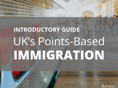 Introductory Guide to UK's Points-Based Immigration