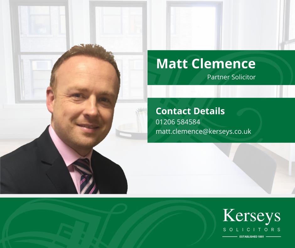 Matt Clemence Partner Solicitor