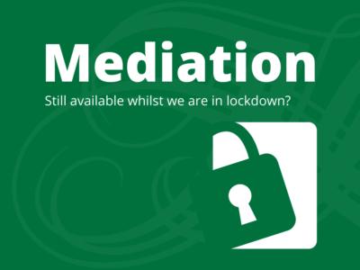 Mediation in Lockdown