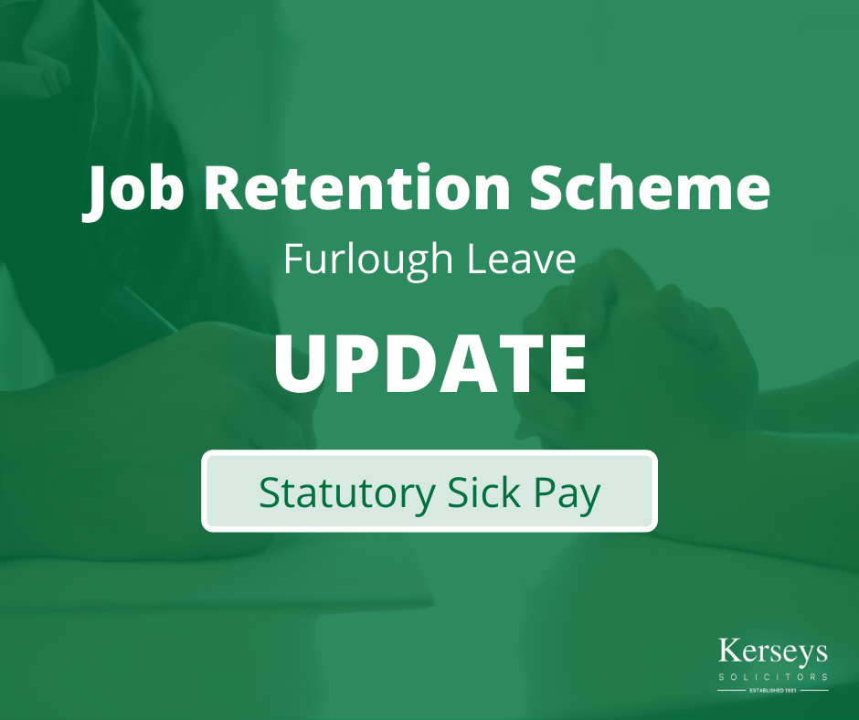 Statutory Sick Pay - Job Retention Scheme