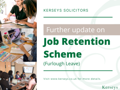 Update Job Retention Scheme