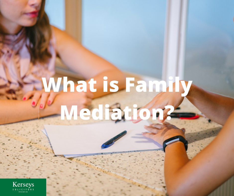 What is Family Mediation