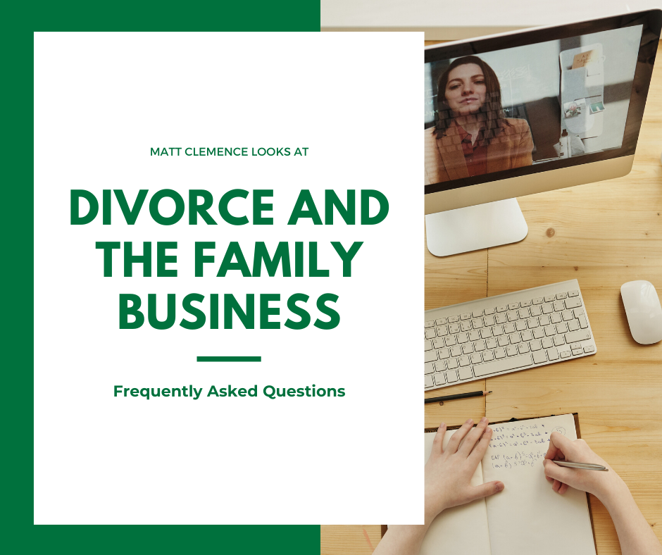 Divorce and the Family Business