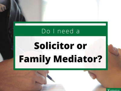 Do I Need a Solicitor or Family Mediator?