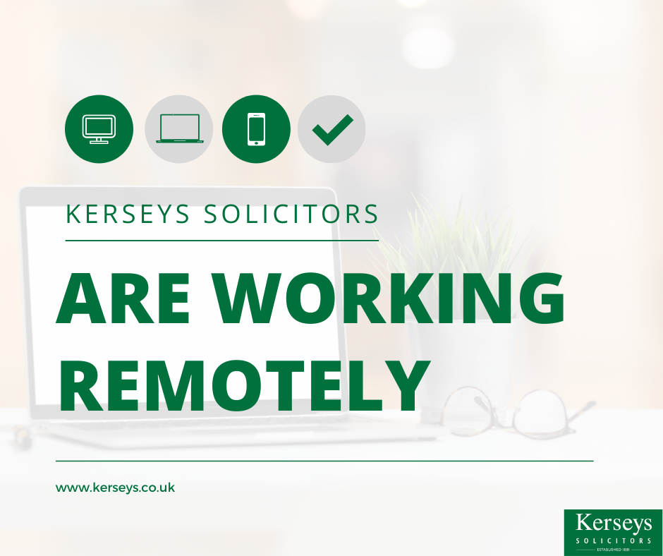 Kerseys Solicitors Working Remotely