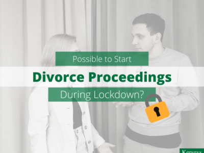 Possible to Start Divorce Proceedings During Lockdown_