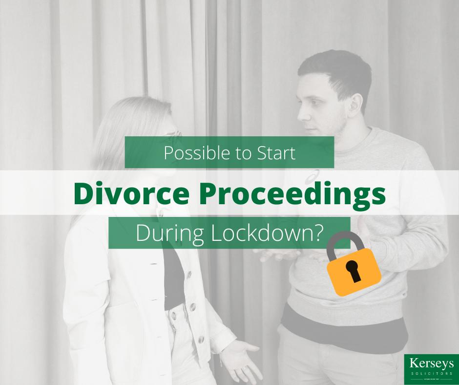 Possible to Start Divorce Proceedings During Lockdown_