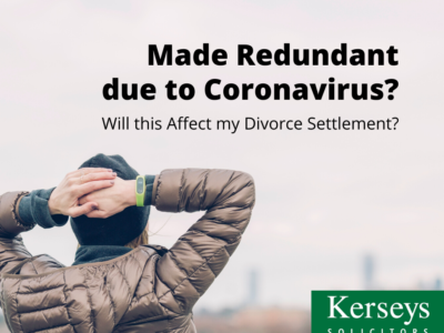 Redundant from Coronavirus – Affect Divorce Settlement