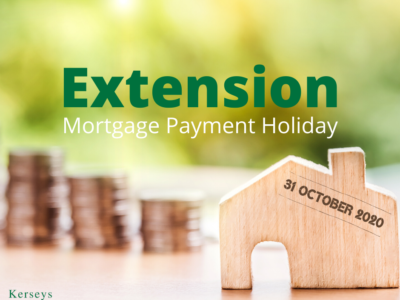 Extension of Mortgage Payment Holiday