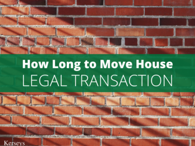 How Long to Move House – Legal Transaction