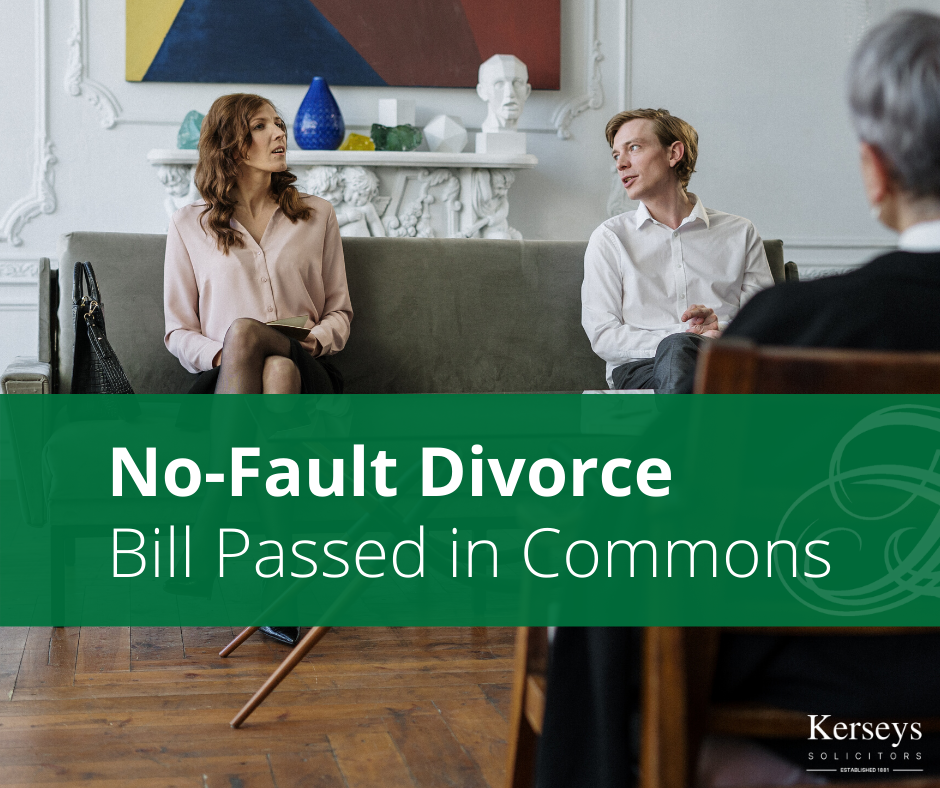 No-Fault Divorce Bill Passed in Commons