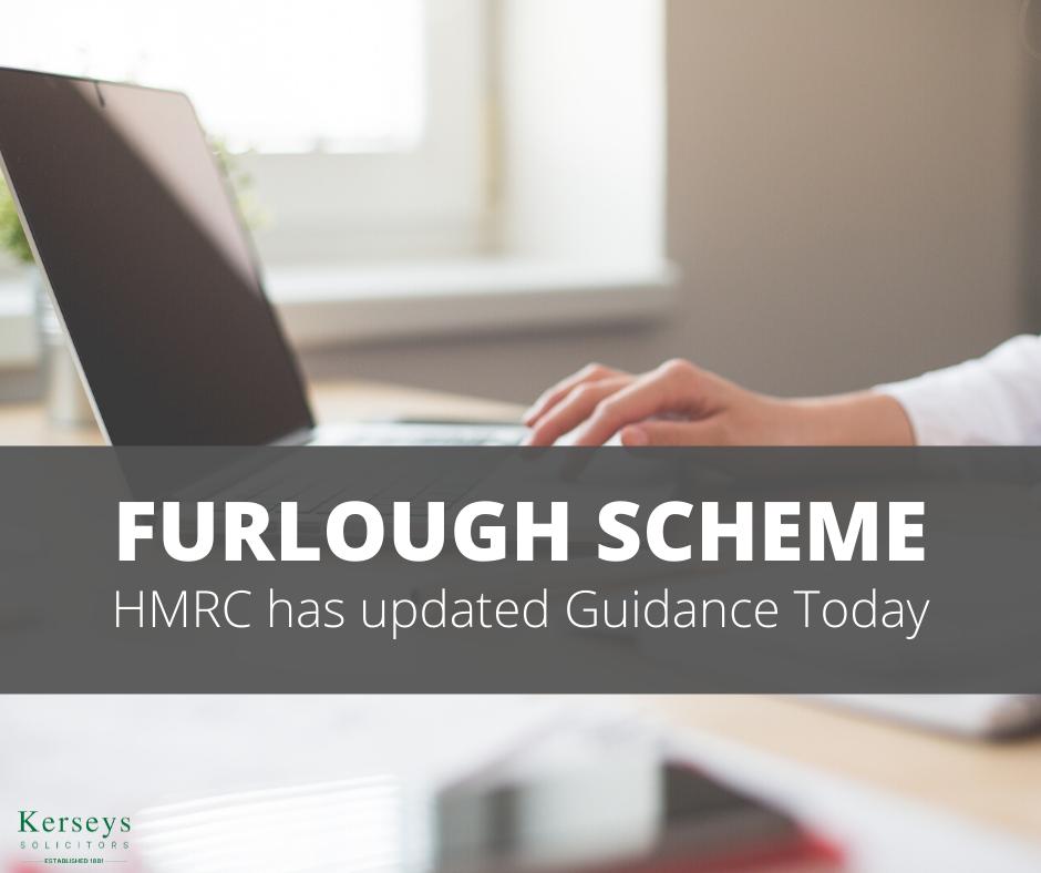 Furlough Scheme – HMRC has updated Guidance Today