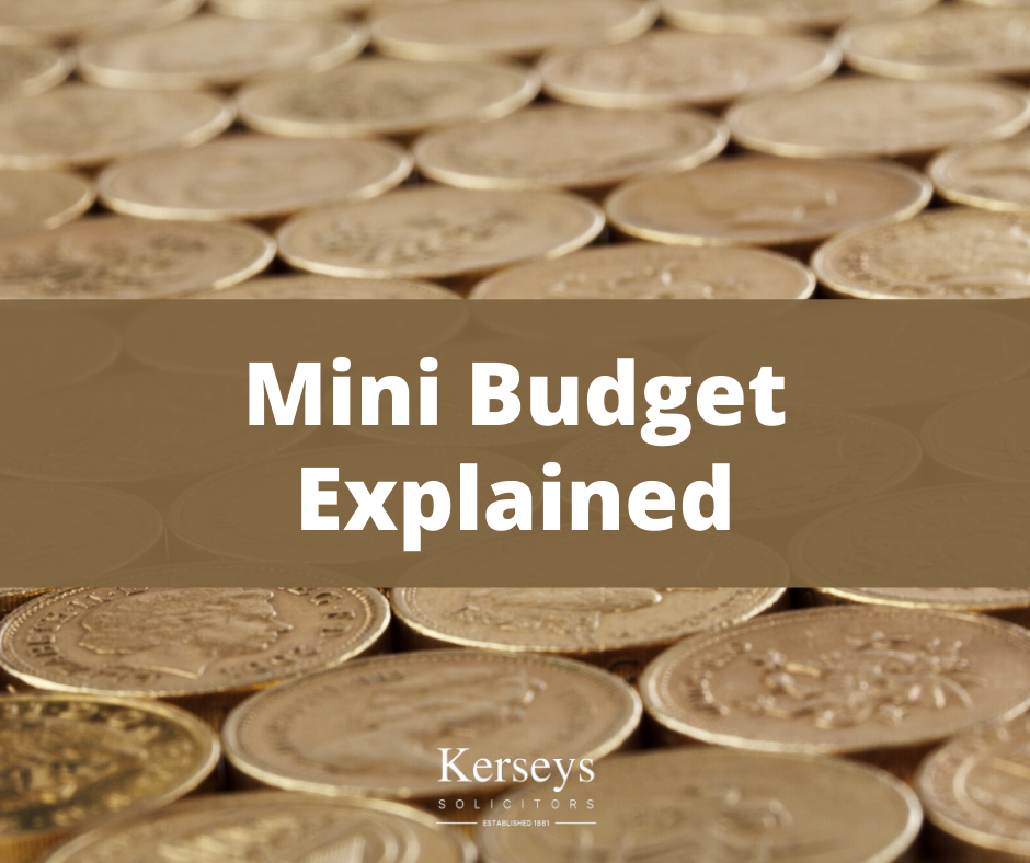 Mini Budget Explained - Kerseys
