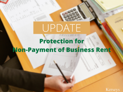 Protection for Non-Payment of Business Rent