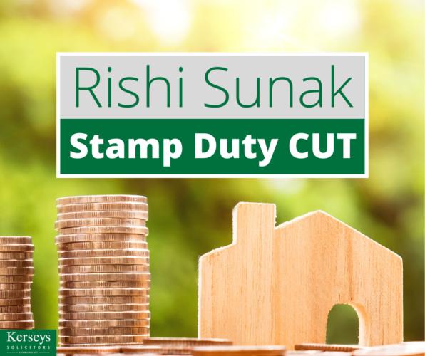 Rishi Sunak - Stamp Duty Cut
